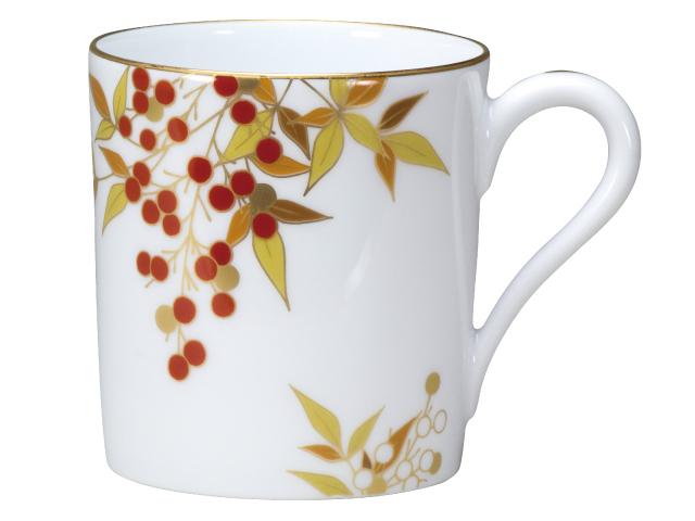 紅白南天 マグカップ