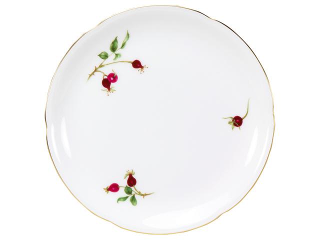 バラの実 19cmケーキ皿