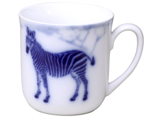 ブルーサファリ マグカップ(シマウマ)