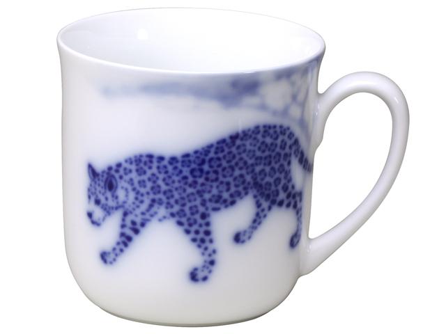 ブルーサファリ マグカップ(ジャガー)