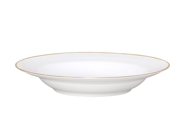 ゴールドライン(リムシェープ) 22cmスープ皿