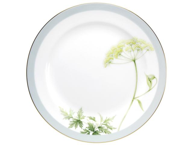 <直営店限定>【手描き】軽井沢の休日「シラネセンキュウ」 26cmミート皿