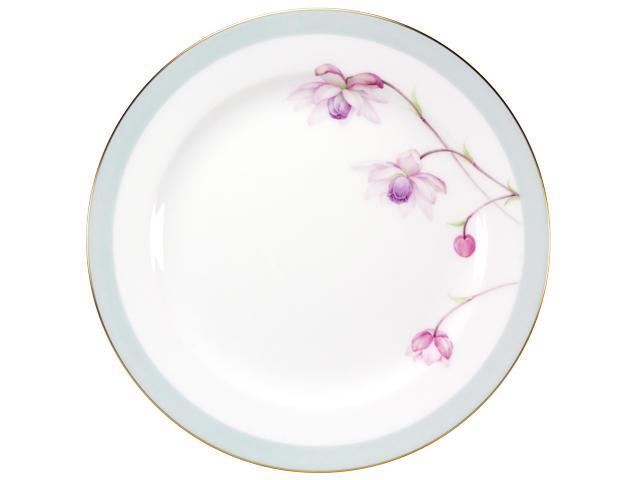 <直営店限定>【手描き】軽井沢の休日「レンゲショウマ」 26cmミート皿