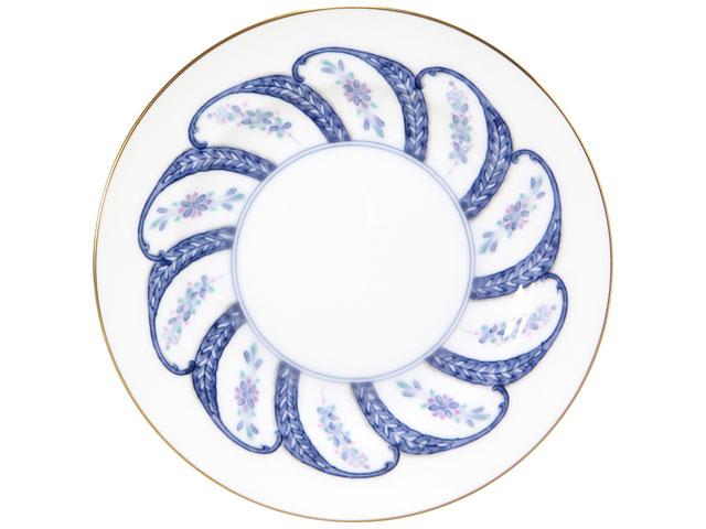 呉須更紗 20cmケーキ皿