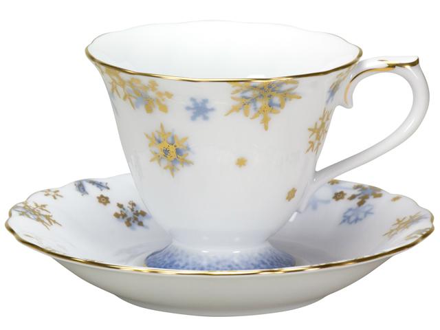 碗皿暦 12月「雪うさぎ」 カップ&ソーサー【100周年記念・通常裏印】