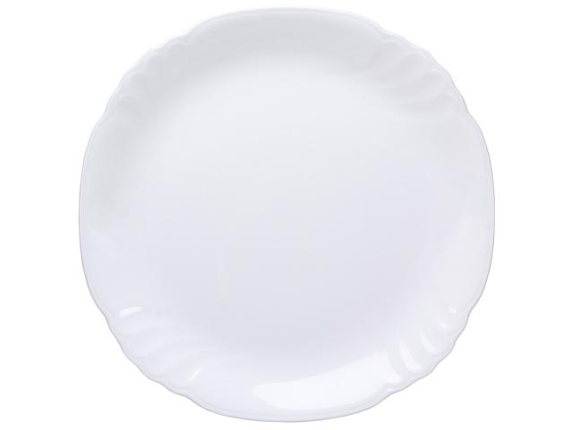 <直営店限定>ジャネットホワイト 23cmランチ皿