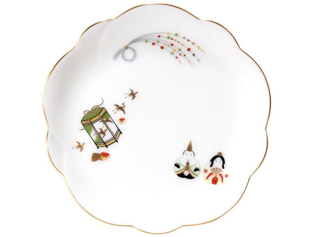 祝いの膳が楽しくなる おせち皿 絵替り2枚組