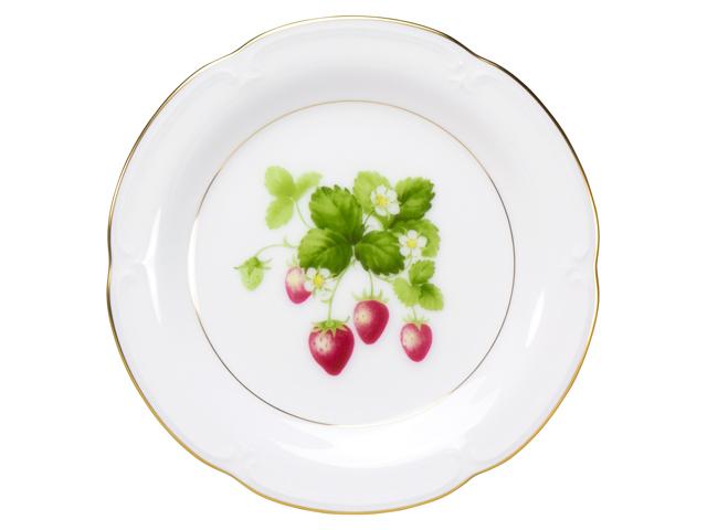 <直営店限定> ジャムの実コレクション「いちご」 14cmプチケーキ皿