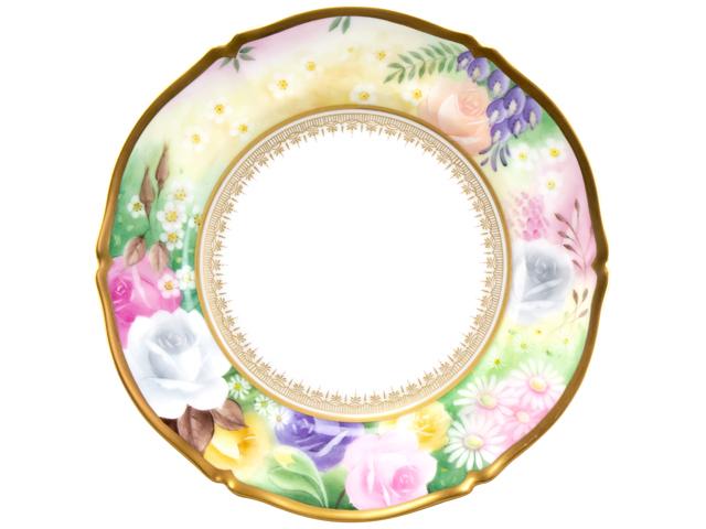 花園 18cmケーキ皿