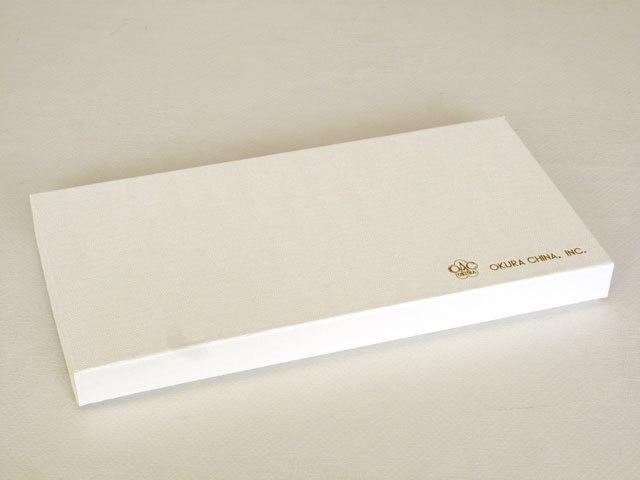 大倉陶園のギフトボックス(通常包装) 銘々皿2枚組