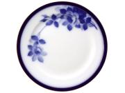 大倉陶園100周年記念ブルーローズ 26cmミート皿