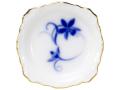 <直営店限定>ブルーカトレア 10.5cmレリーフ小皿