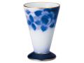 大倉陶園100周年記念ブルーローズ 酒杯