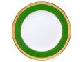 色蒔エンボス グリーン 20cmケーキ皿