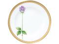 【手描き】一本の薔薇(パープル) 20cmケーキ皿