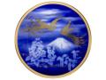 「鳳凰榮白樺文」 28cm飾り皿