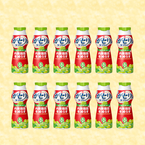 雪印メグミルク 恵 megumi ガセリ菌SP株ヨーグルト ドリンクタイプ マスカット 100ml 12本入り 1ケース