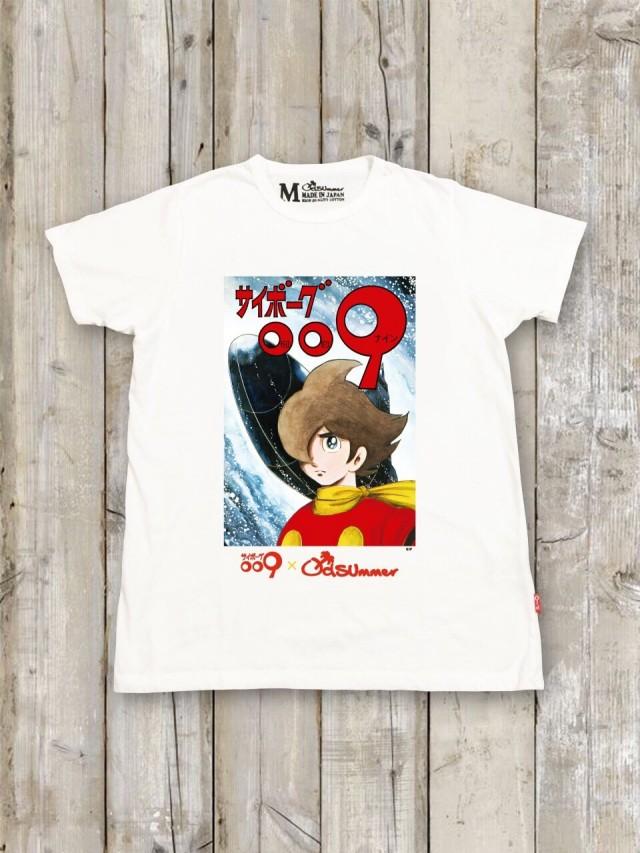 サイボーグ009コラボTシャツ(A)
