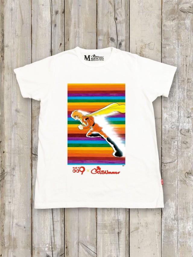 サイボーグ009コラボTシャツ(B)
