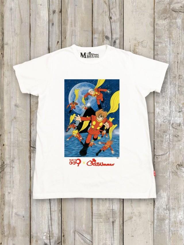 サイボーグ009コラボTシャツ(C)