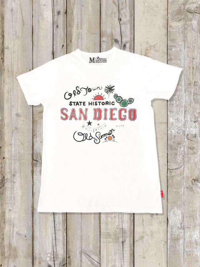クルーネックTシャツ(SANDIEGO)