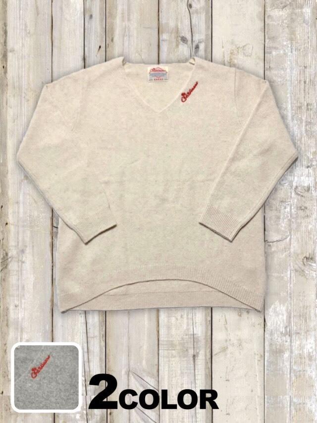 レディースVネックセーター