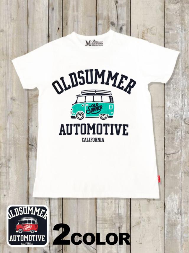 クルーネックTシャツ(AUTO MOTIVE)