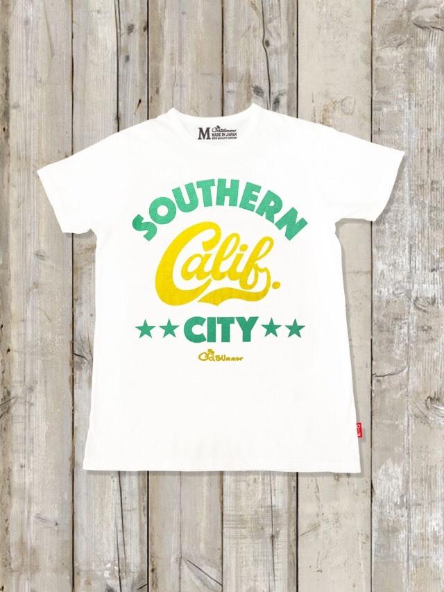 クルーネックTシャツ(SOUTHERN CALIF CITY)