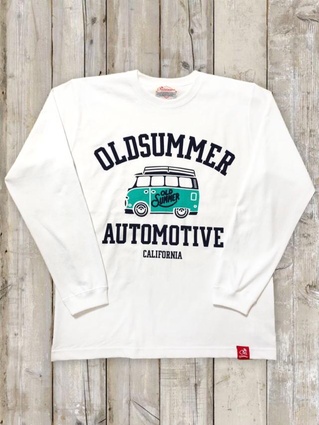 クルーネックロングスリーブTシャツ(AUTO MOTIVE)