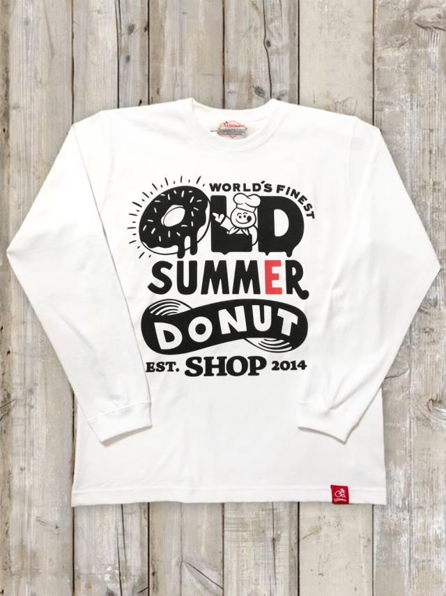 クルーネックロングスリーブTシャツ(OLDSUMMER DONUT)