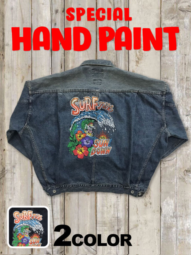 I.M.S.TコラボGジャン(SURF) SPECIAL HAND PAINT