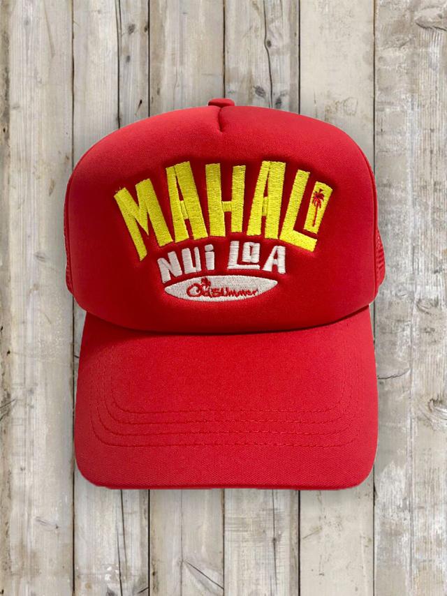 メッシュキャップ(MAHALO)