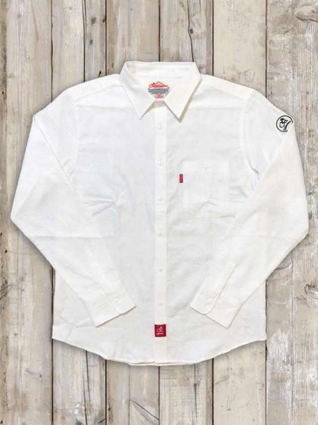 白シャツ(ヤシの木)