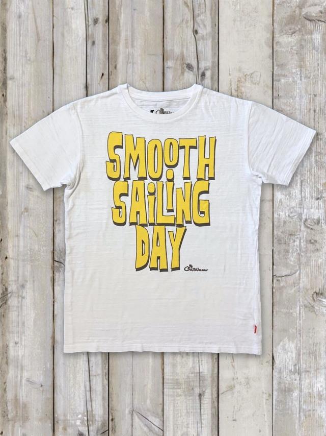 スラブTシャツ(SMOOTH SAiLiNG DAY)