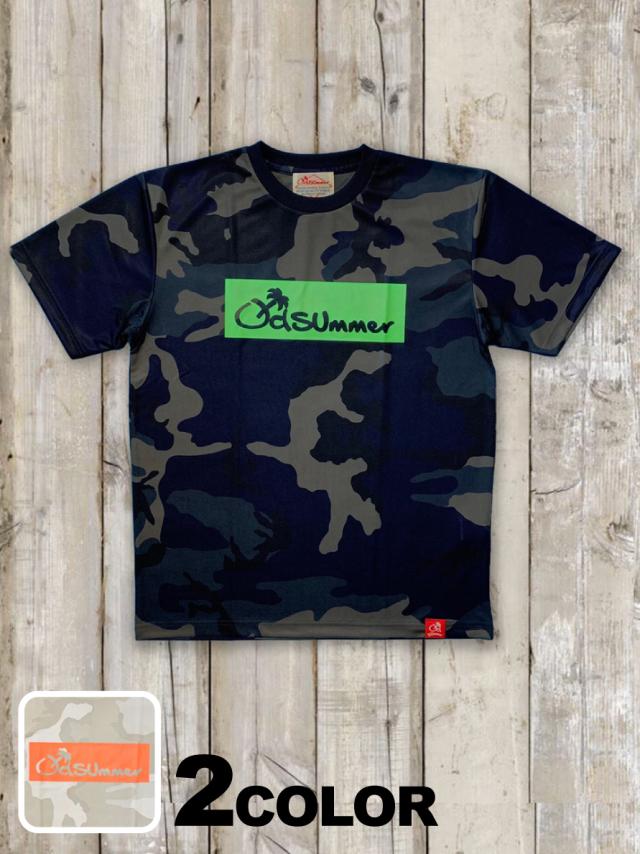 ドライカモフラTシャツ(BOX LOGO)
