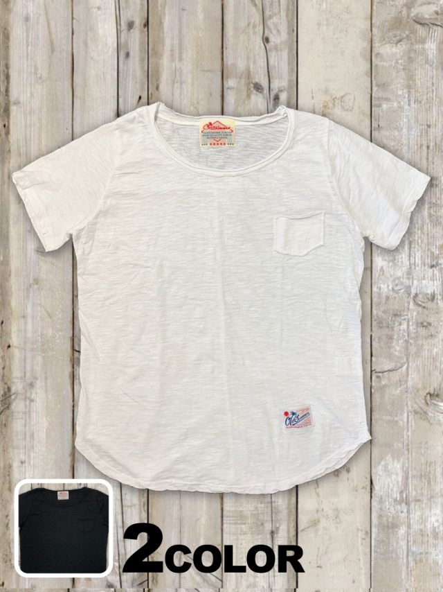 レディーススラブTシャツ