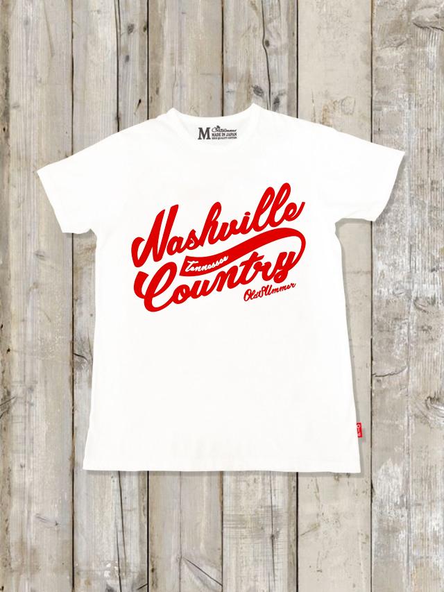 クルーネックTシャツ(Nashville Country)