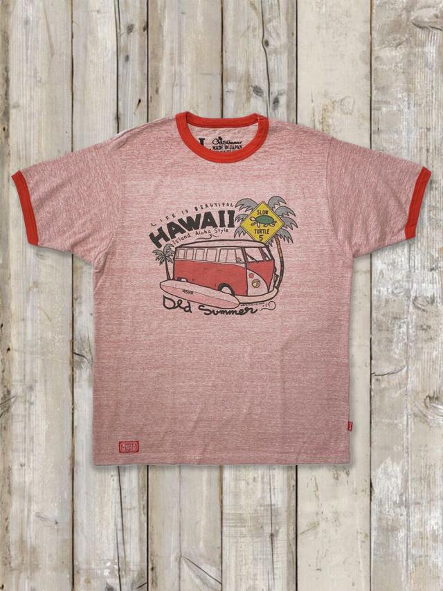 リンガーTシャツ(ワゴンバス)