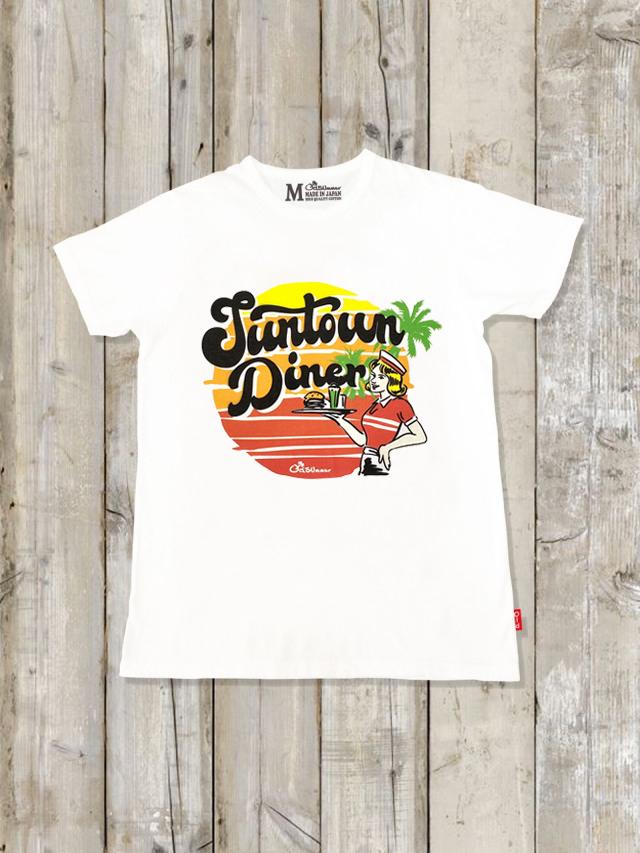 クルーネックTシャツ(Suntown Diner)