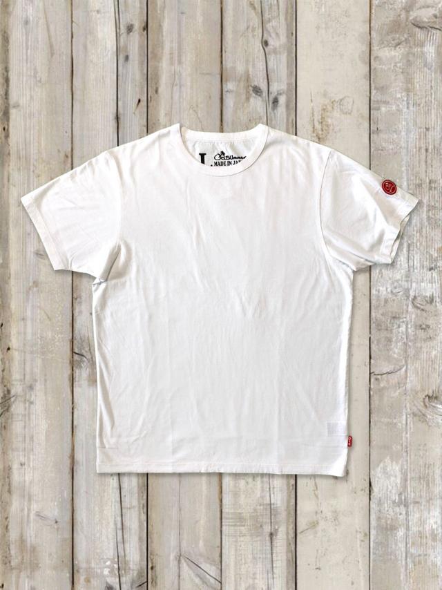 クルーネックTシャツ(赤ワッペン)