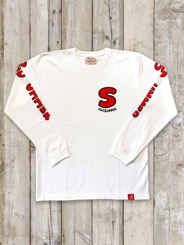 クルーネックロングスリーブTシャツ(OLDSUMMER)