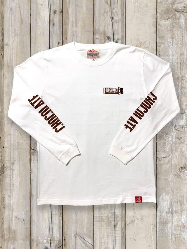 クルーネックロングスリーブTシャツ(チョコレート)