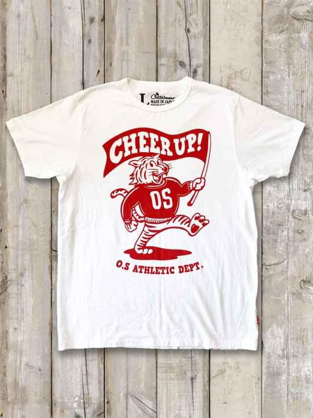 クルーネックTシャツ(CHEER UP TIGER)