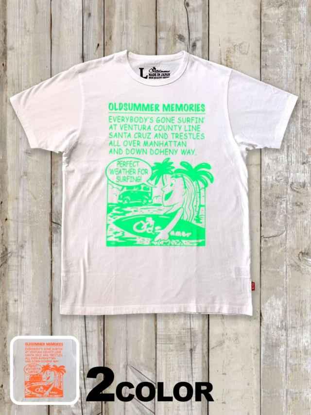 クルーネックTシャツ(OLD SUMMER COMICS)