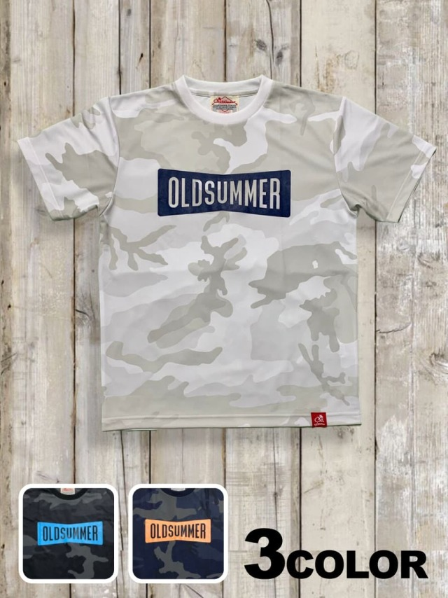 ドライカモフラTシャツ(RIBBON LOGO)