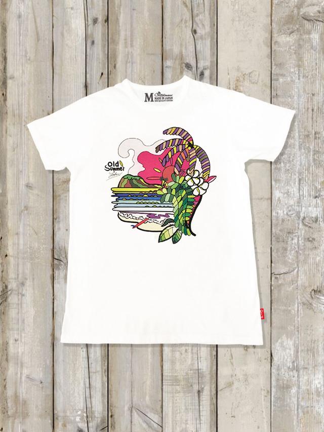 クルーネックTシャツ(BEACHSIDE)