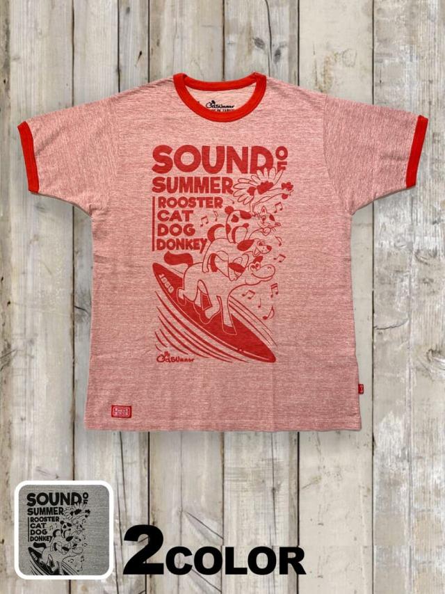 リンガーTシャツ(SOUND OF SUMMER)