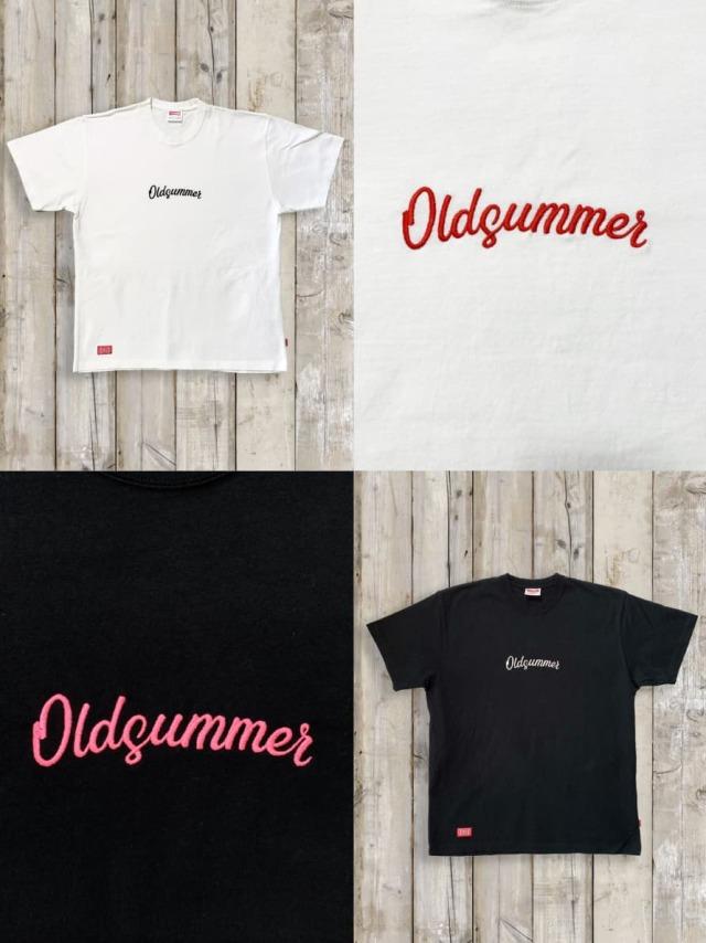 BIGシルエットTシャツ(OLDSUMMER 刺繍)