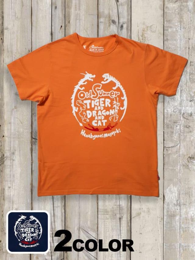 クルーネックTシャツ(TIGER&DRAGON&CAT)