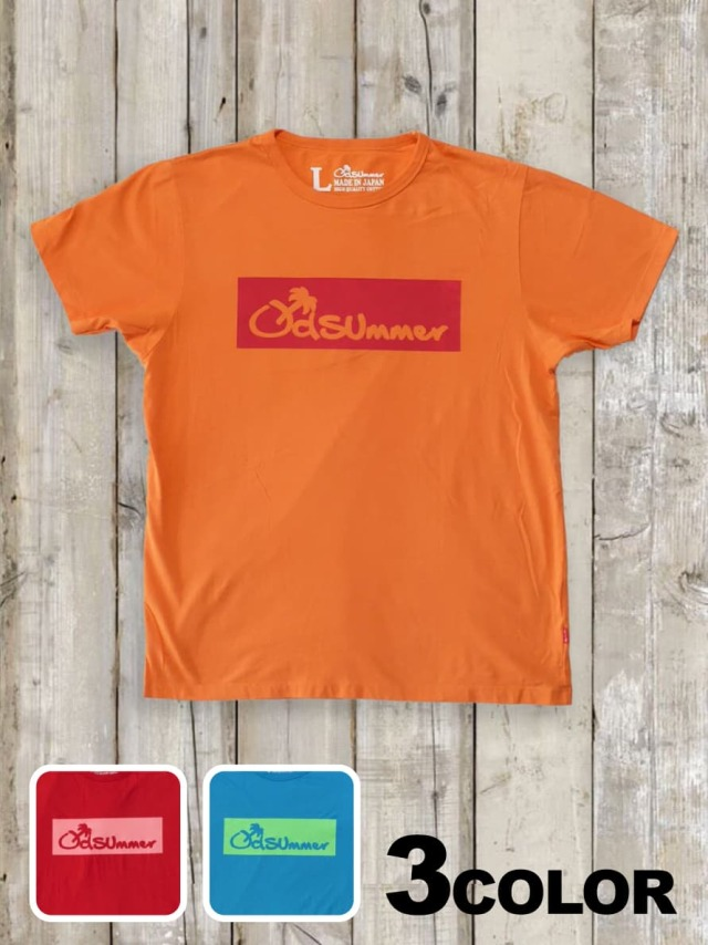 クルーネックTシャツ(BOX LOGO)